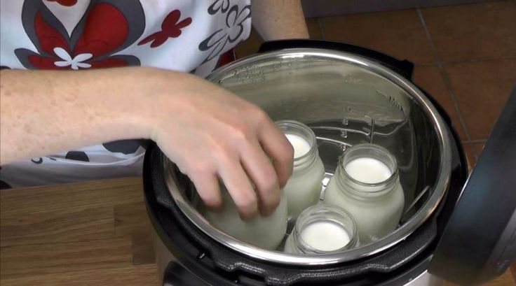 Yogurt making in Instant Pot - directions and a video.