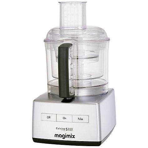 Buy Magimix 5200 BlenderMix Food Processor, Brushed Steel Look Online at johnlewis.com