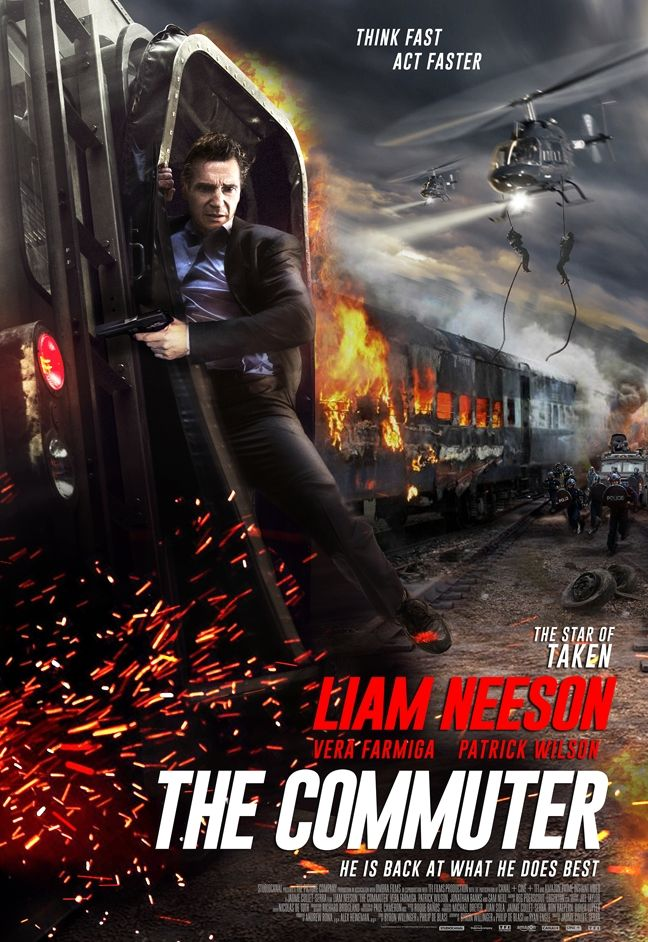 The Commuter Action Movie Poster Full Movies Online Free Streaming Movies