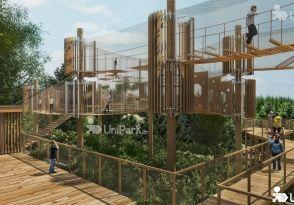 3D bludiště - unikátní lanové centrum pro rodiny s dětmi | Unipark