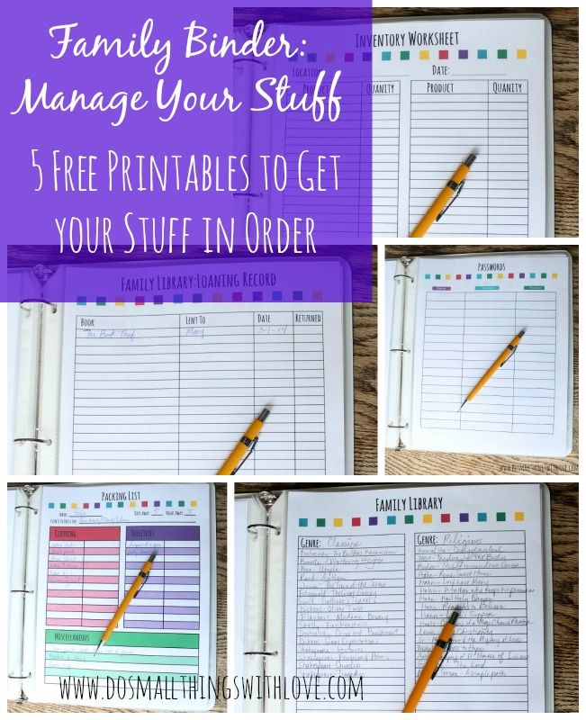 17 Best Images About HouseHold/Home Management Binder