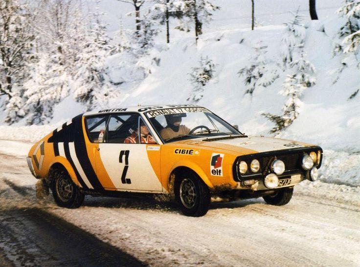 1975 Rajd Russkaja Zima - Renault 17 Gordini
