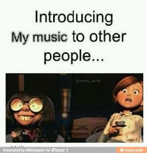 Accurate. But it is lovely finding grand souls who listen to the same stuff.