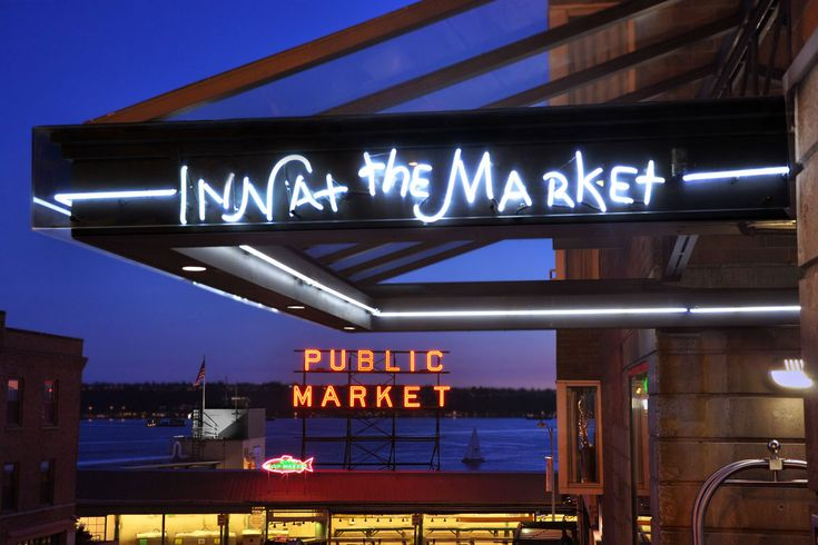 Inn at the Market- Best Hotel we have ever stayed at in Seattle. Will never stay anywhere else.