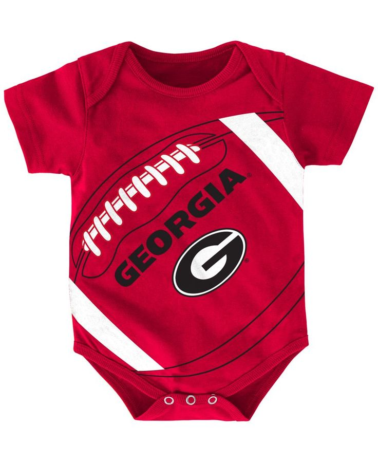 Outerstuff Baby Boys' Georgia Bulldogs Football Fanatic Creeper, (0-24 months)