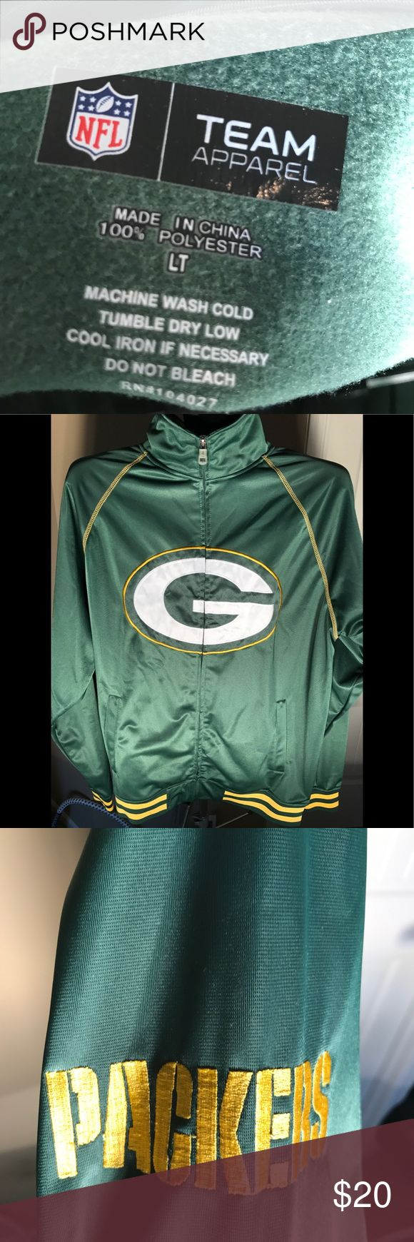 Packers jacket NWOT Packers jacket. Size LT. never worn. Would make a great gift! Please make offer! Go Pack! Shirts Sweatshirts & Hoodies