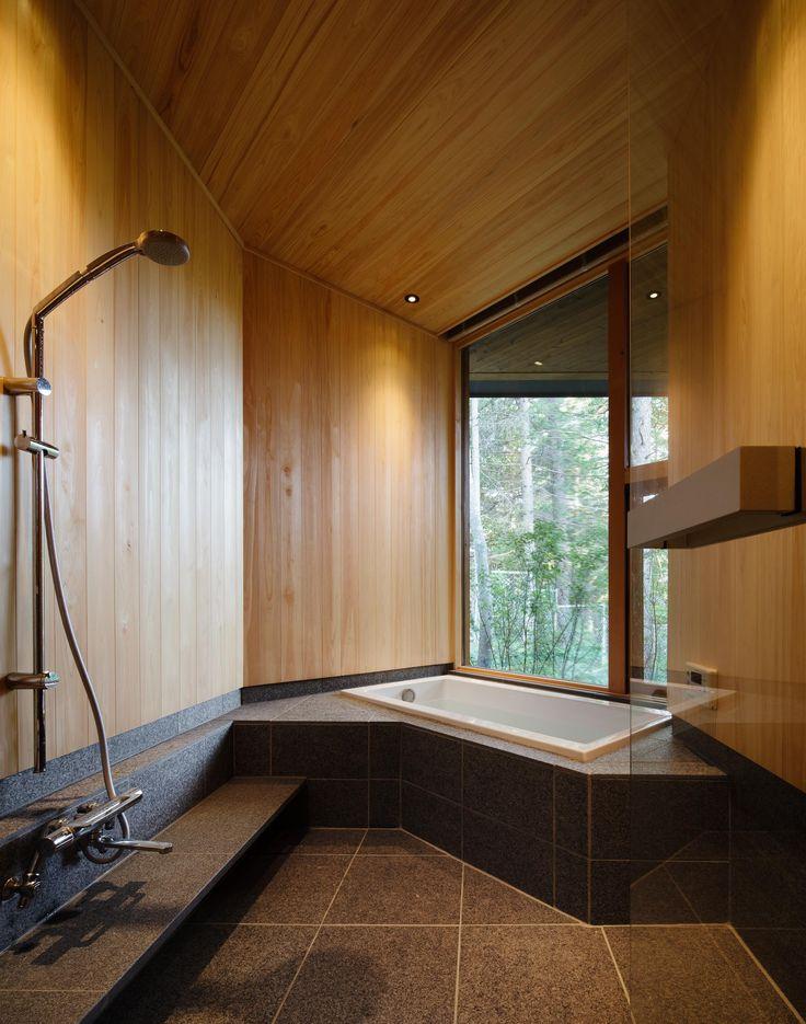 バス/トイレ事例:バスルーム(BL山荘)