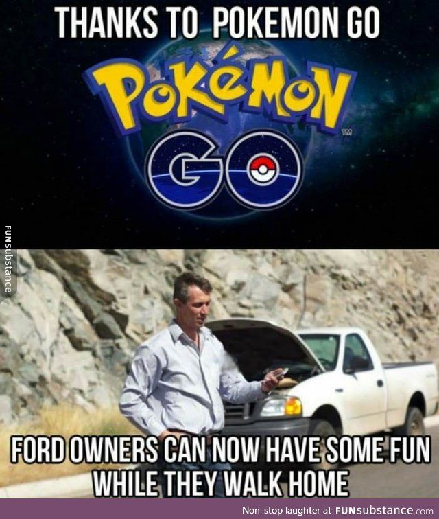 Ford owners *triggered*