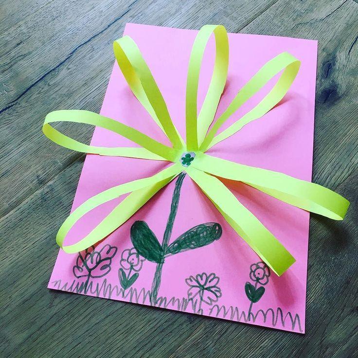 Hey Danke Sarah (5) Für Diese Entzückende Blume! Was Für Eine Tolle Idee! I  Fanpost. Dein Bloggi Thanks Sarah (5) For This Great Idea. I My Fans!