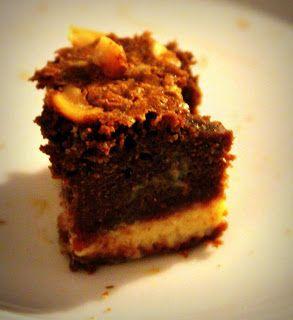 Marias Madside: Brownie med karamel og peanuts