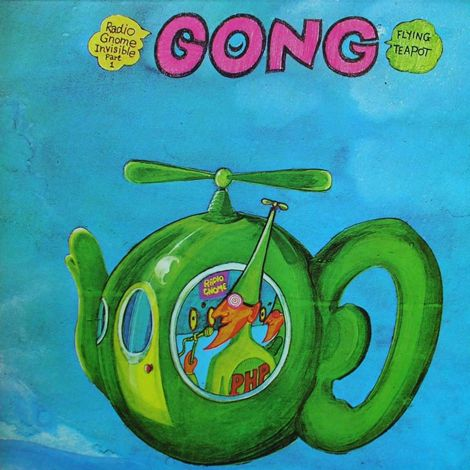 Flying Teapot. Released the 25th of May in 1973. #Gong http://www.roeht.com/flying-teapot/  #vinylrecords #vinyl #vinylforever #lp