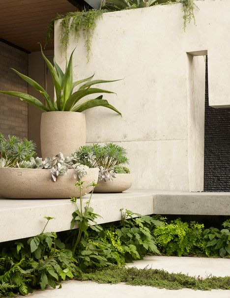 Surface design creates outdoor spaces for butterfly house for Surface design landscape