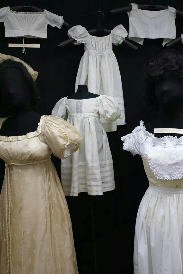 "Womens and infants gowns, Lacis Museum of Lace and Textile ""mommy and me"" exhibit"