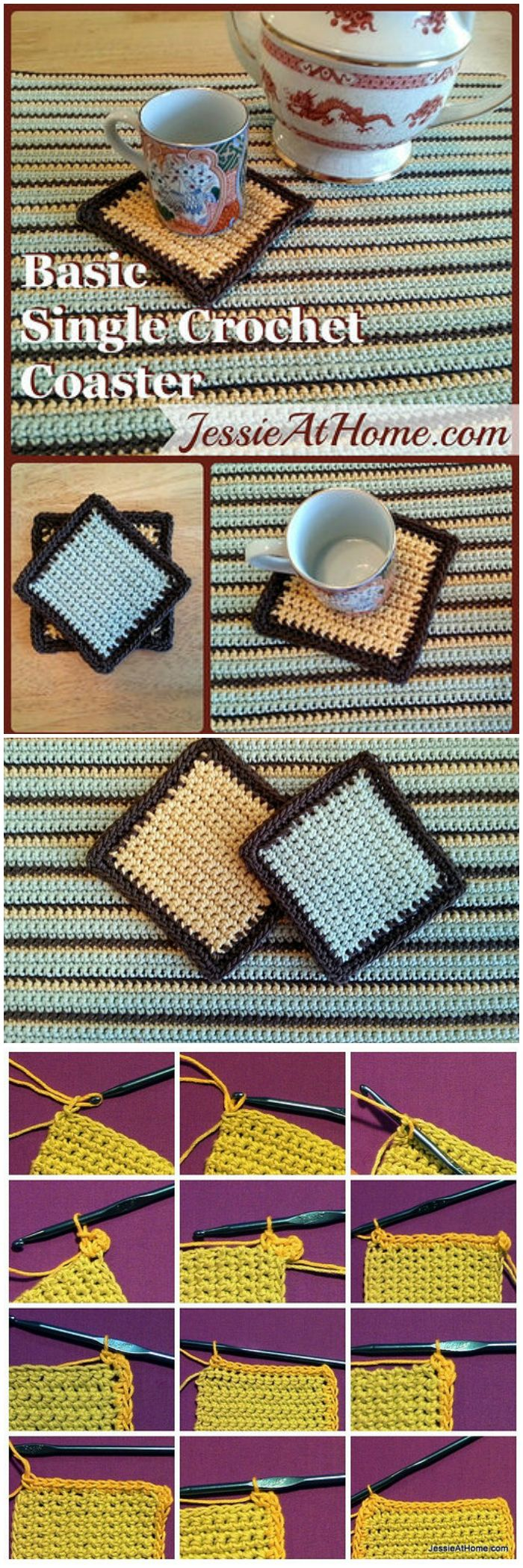 Best 25 crochet coaster pattern free ideas on pinterest crochet free crochet coaster patterns look very beautiful and cute with the soft yarn and the different bankloansurffo Images
