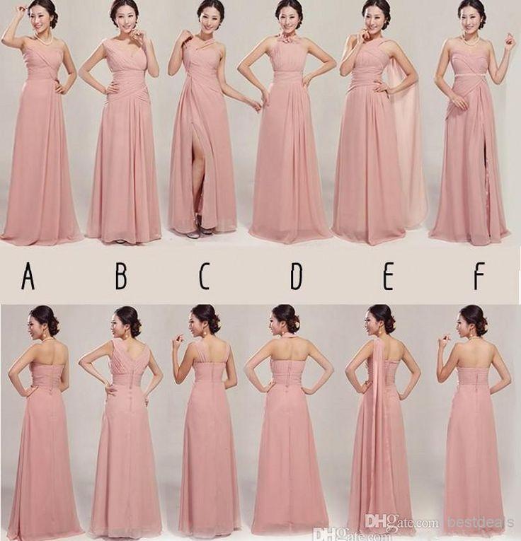 Mejores 55 imágenes de Bridesmaid Dresses en Pinterest | Vestidos de ...