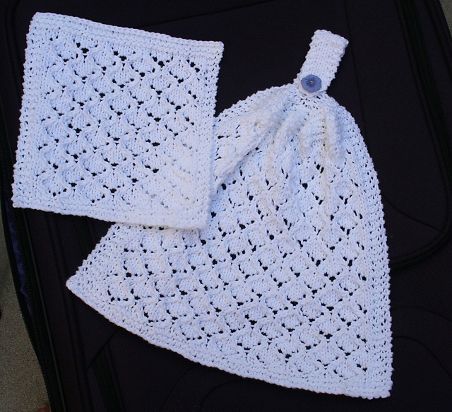 53 Best Knit Hand Towels Images On Pinterest Knitting Patterns