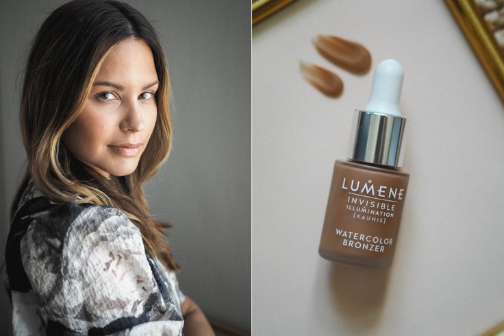 Fashion editor and Blogger Johanna Piispa is trusting Lumene Invisible Illumination in her daily makeup routine. <3