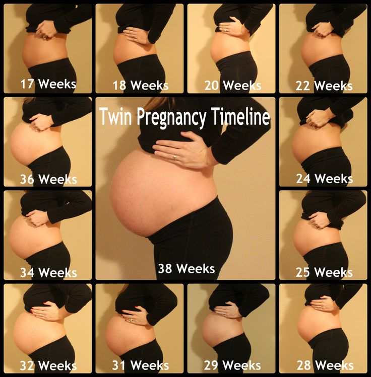 Twin - pregnancy - pregnant - twins - fraternal twins - pregnant belly - timeline - twin mom blog