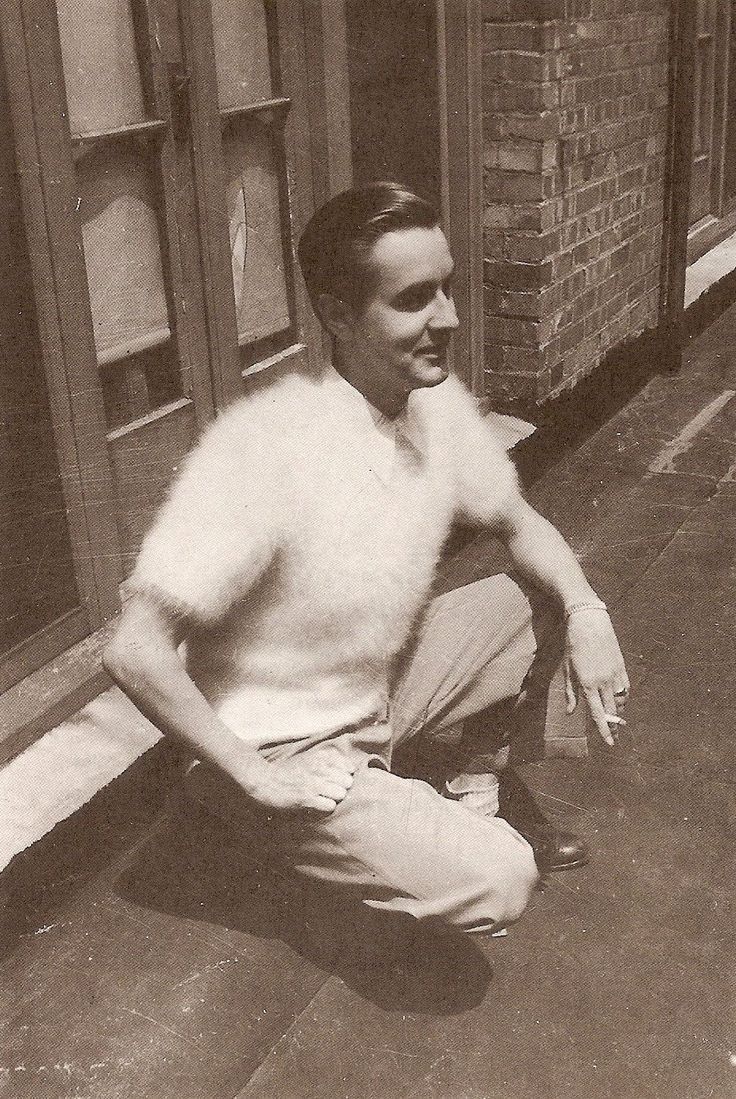 Ed Wood in angora sweater. He was from my hometown. Poughkeepsie , NY