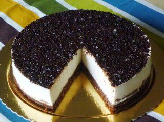 ....... dulcis in fabula: Torta fredda al cocco e cioccolato
