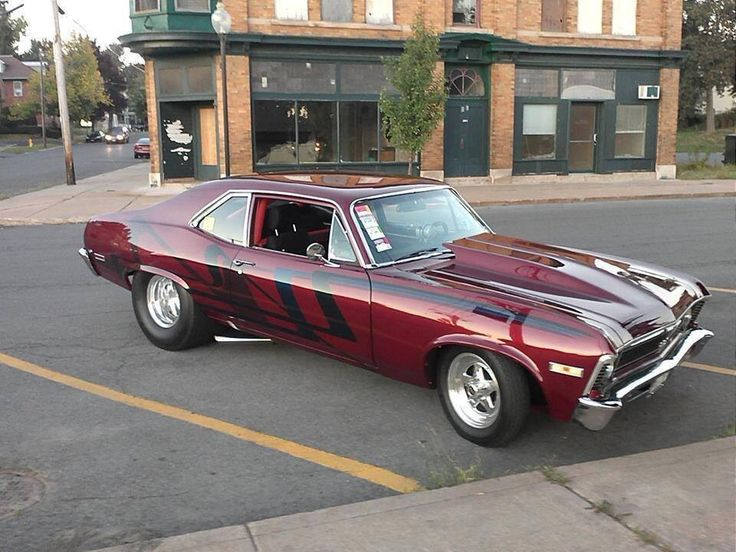 Chevy Nova OMG look at the hood