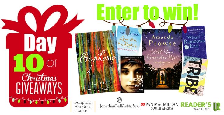 Yet another Hamper we wish we didn't have to part with.  Filled with with fiction you really want to read from @JonathanBallPub , @PenguinBooksSA  & Pan Macmillan this hamper is any bibliophile's dream! Enter here: https://gleam.io/X6jQq/day-10-of-christmas-giveaways