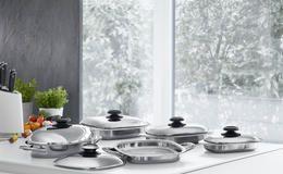 Die AMC Kochsets können ganz nach Ihrem individuellen Geschmack, nach Haushaltsgröße oder Kochgewohnheiten individuell und flexibel zusammengestellt werden.