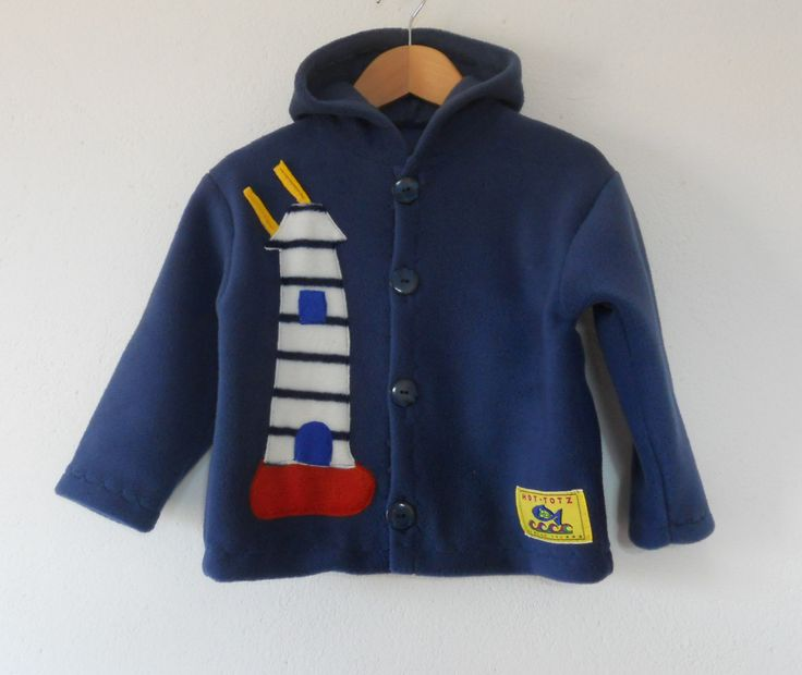 A unisex nautical kids jacket for all the little sailors in your life