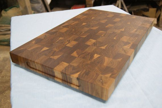 butcher block cutting board with feet woodworking