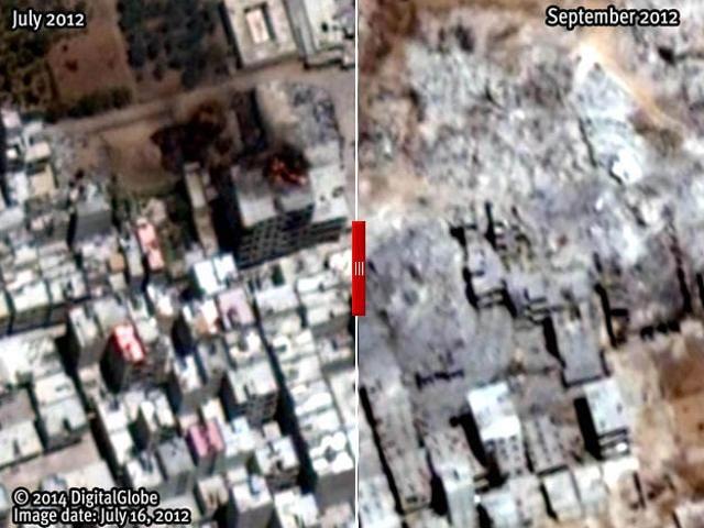 """La Stampa - Ong contro Assad """"Migliaia di case rase al suolo"""""""