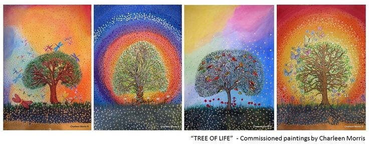 Tree of Life  Commissioned Painting