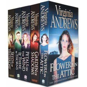 Virginia Andrews Dollanganger Collection 5 Books Set Pack (Garden of Shadows, Petals on the wind, If There be Thorns, Seeds of Yesterday, Flowers in the Attic) (V.C. Andrews Dollanganger Collection) by Virginia Andrews, http://www.amazon.com/dp/B004IAP5OE/ref=cm_sw_r_pi_dp_ty-Wqb0J9TM69