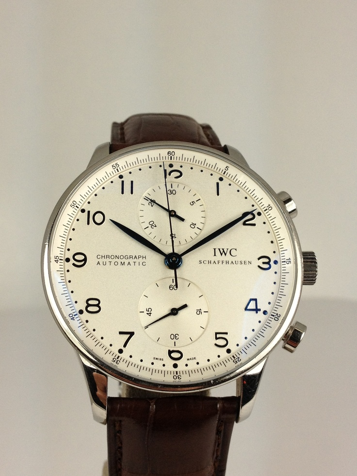 IWC Portuguese. New Alligator Strap, Stainless Steel Case, 41MM ...