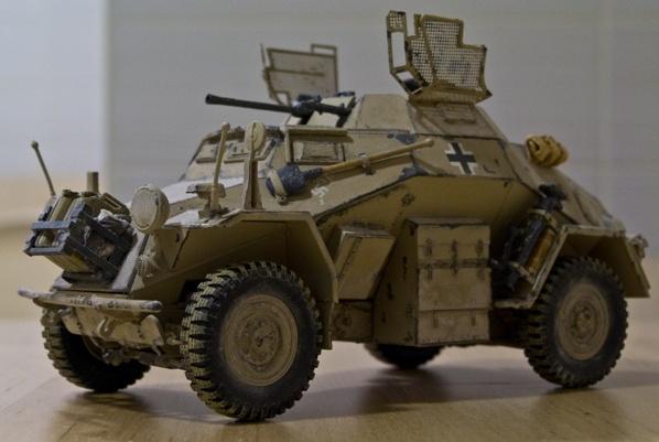 sdkfz 222 afrika korps tristar 1 35 modelismo pinterest. Black Bedroom Furniture Sets. Home Design Ideas