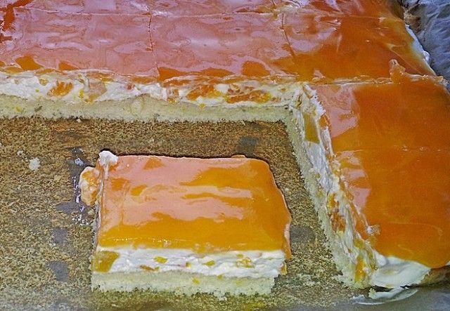 Beste Kuchen: Mandarinen Quark Schnitten