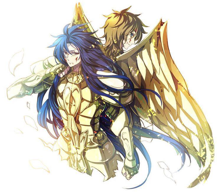 Saga y Aioros