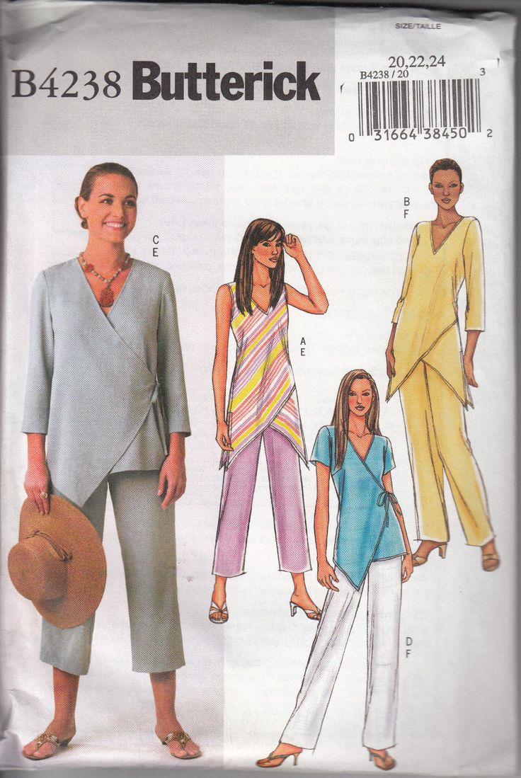 Butterick Pattern. Sort of lagenlook.