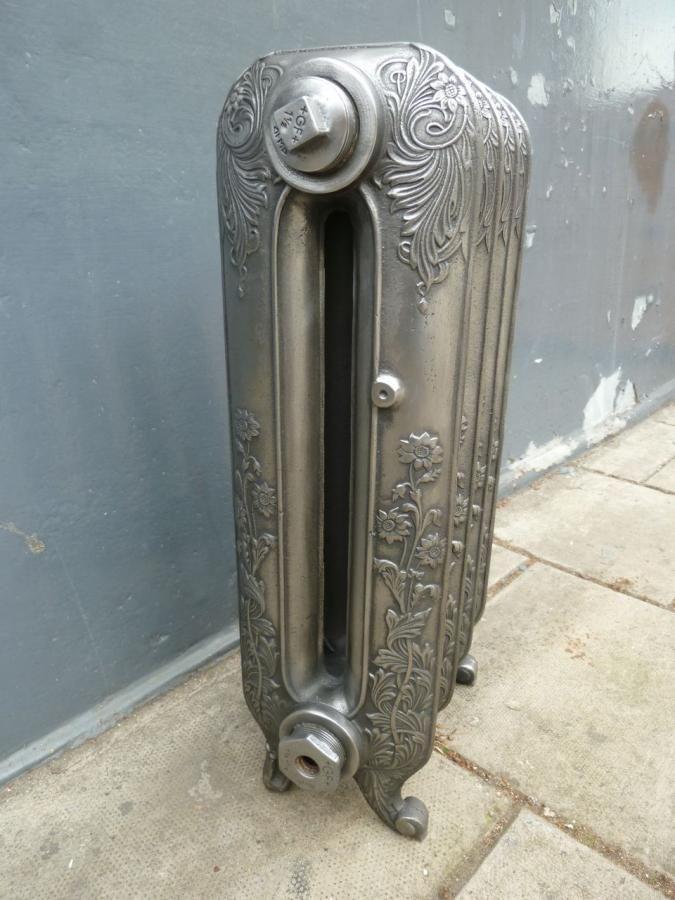 Antique Radiador | cast iron daisy radiator an original victorian cast iron radiator ...