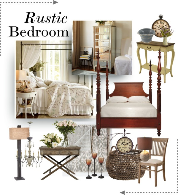 """""""Rustic Bedroom"""" by hana-burn1ngbr1ght on Polyvore"""