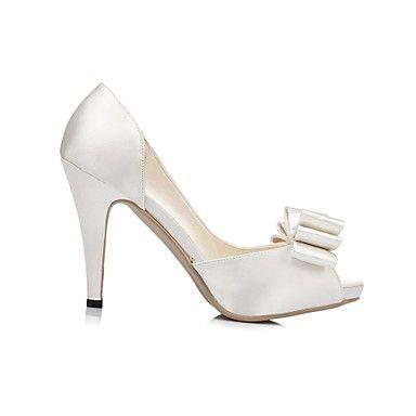 Γάμος Παπούτσια - Γυναικεία - Με Τακούνι / Peep Toe / Πλατφόρμες - Πέδιλα - Γάμος - Μαύρο / Μπλε / Μωβ / Κόκκινο / Ιβουάρ / Άσπρο – EUR € 33.24