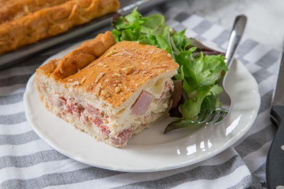 Pizza Gain Aka Pizzagaina, Pizza Rustica, Italian Easter Ham Pie Recipe - Food.com