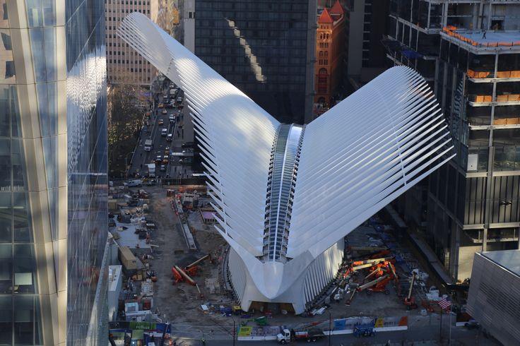 World Trade Center Transportation Hub- USA- Santiago Calatrava