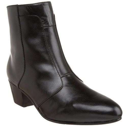 Giorgio Brutini 805751 Mens Black Leather Cuban Heel Boot | eBay