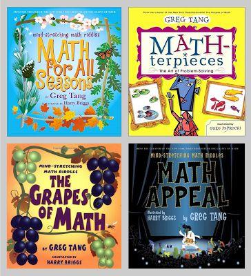 Hoots N' Hollers: Math Mentor Text Link Up -- Greg Tang