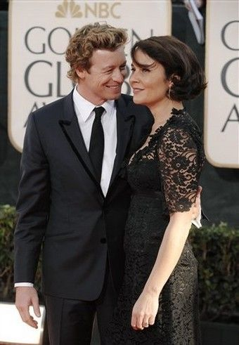 The Mentalist actor Simon Baker and his wife Rebecca Rigg
