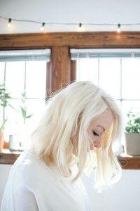 Leuke Platina blonde kapsels