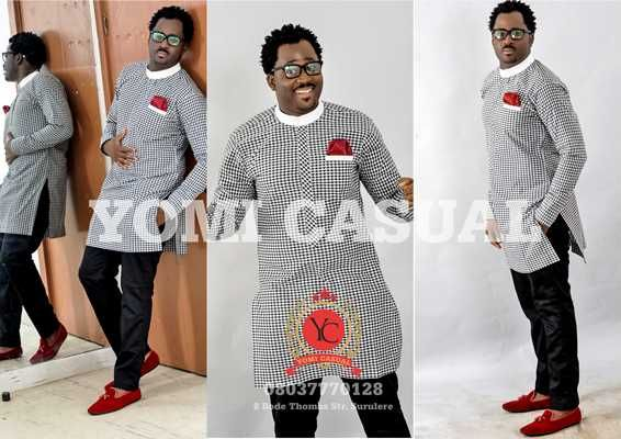 Yomi is a younger brother to AY comedian and also an award winning designer. His newest collection for 2013 was unveiled l...