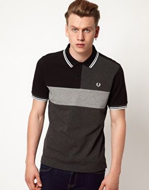 Fred Perry  Polo Slim Fit Cut and Sew