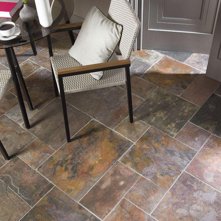 12 best tile kitchen flooring images on pinterest floors for High traffic flooring ideas