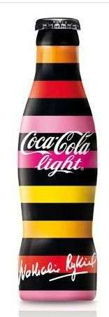Fashionable Beverage Bottles,  Nathalie Rykiel's Artsy Coca-Cola Design.